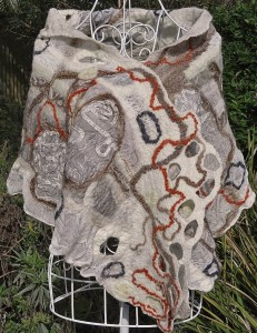 Scribbly Gum (wrap/stole)